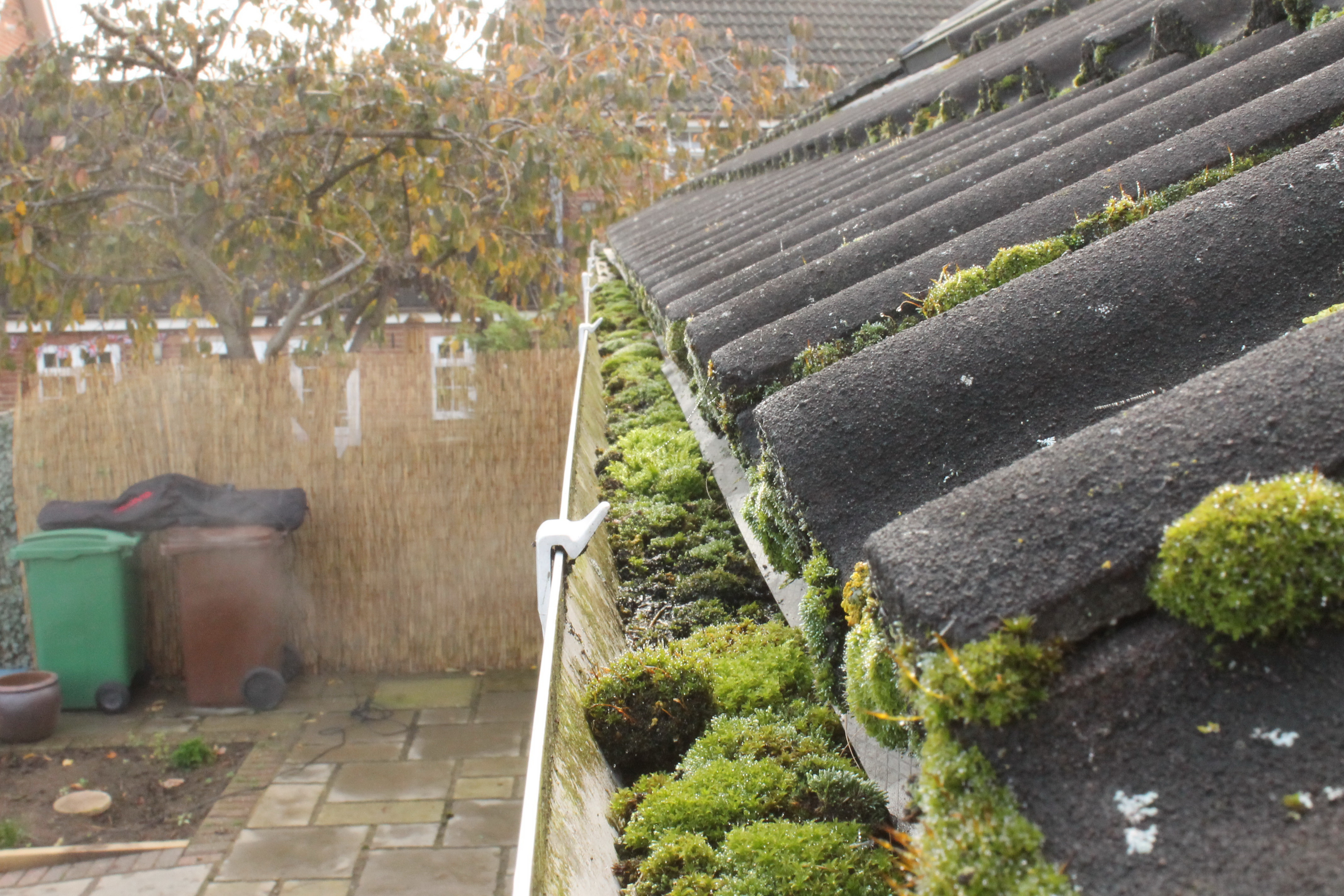 Maintaining guttering and keeping them clear of debris for Leaking roof gutter