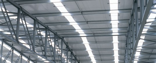 Industrial Discoloured and Damaged Rooflights
