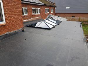 EPDM roofers worcester